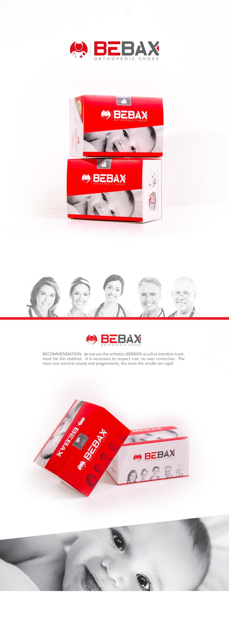 طراحی جعبه کفش ارتوپدی بی بکس